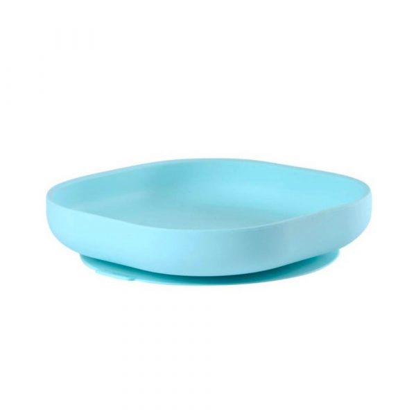 Beaba Silicone Suction Plate - Blue